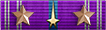 Good Conduct Ribbon with Clusters